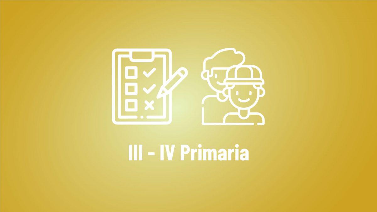 quiz III-IV primaria