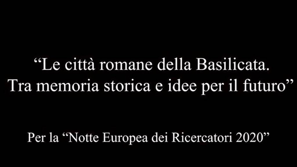 Le città romane della Basilicata. Tra memoria storica e idee per il futuro