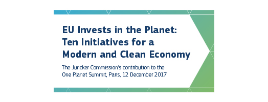 immagine EU invests in the planet