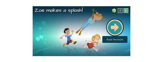 immagine Zoe makes a splash!